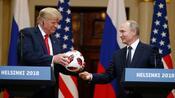 US-Präsident vertraut Russland: Trump sagt, Putin habe kein belastendes Material über ihn