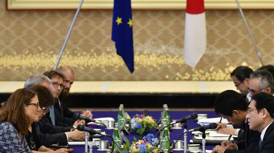 Politische Einigung auf EU-Japan-Handelsabkommen