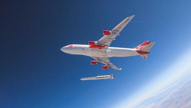 Raumfahrtfirma: Testflug von Virgin-Orbit-Trägerrakete abgebrochen