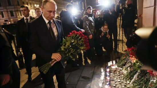St. Petersburg/Berlin: St. Petersburger Attentäter war Kirgise