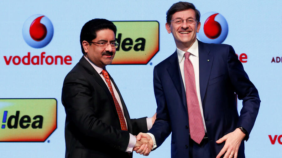 Vodafone will in Indien mit Idea Cellular fusionieren. Quelle: Reuters