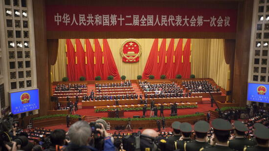 Volkskongress in China