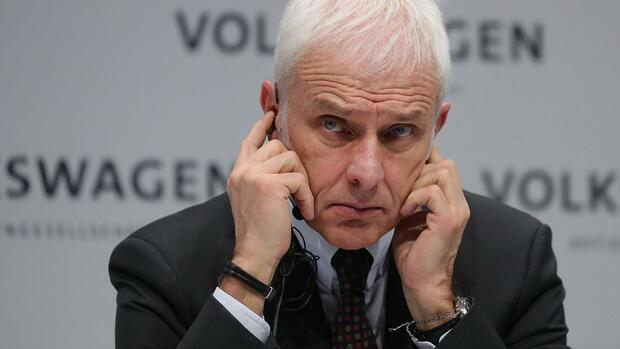 VW-Chef Müller soll in Unfallflucht verwickelt gewesen sein