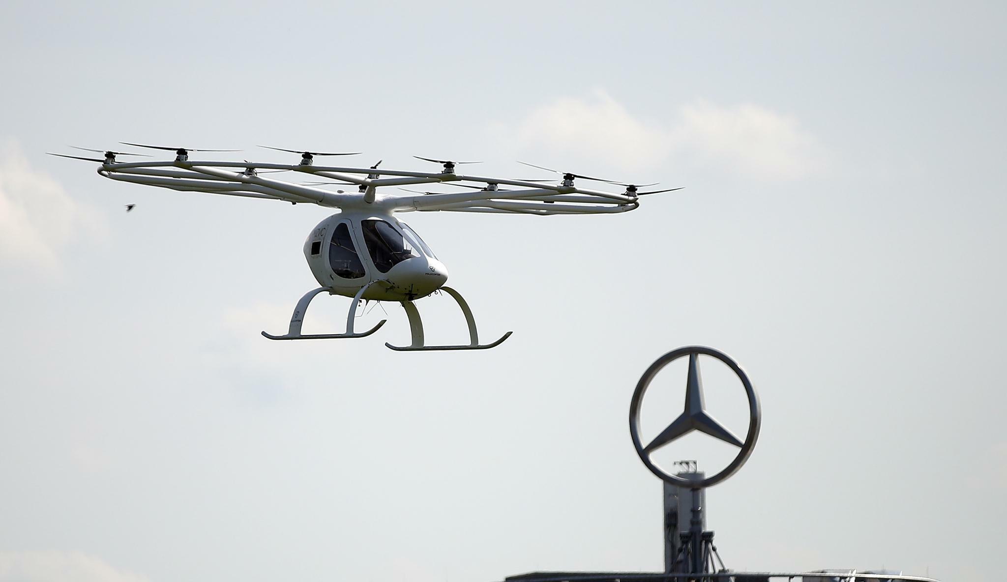 Daimler-Chef hält Flugtaxis für Lösung von Stauproblem in Städten