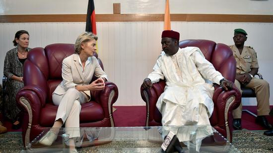 Hilfe gegen Terror: Von der Leyen reist nach Niger