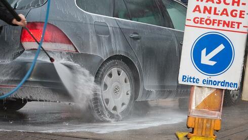 waschen erlaubt die besonderheiten der autopflege im winter ratgeber service auto. Black Bedroom Furniture Sets. Home Design Ideas