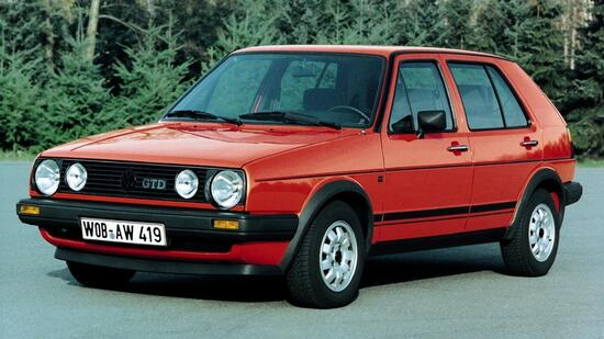 VW Golf GTD ab 1984  Quelle: VW