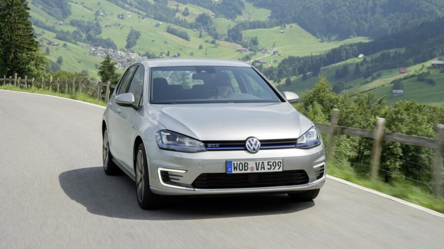 vw golf gte im test der gti unter den e mobilen. Black Bedroom Furniture Sets. Home Design Ideas