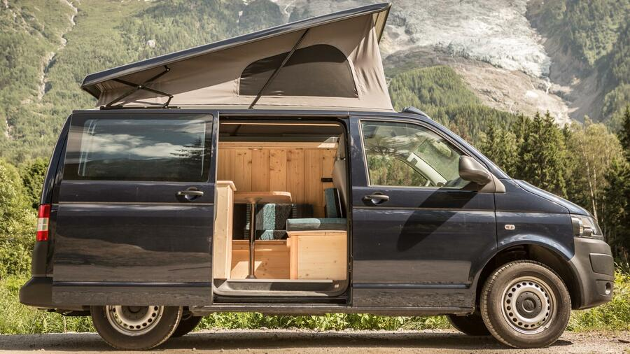 vw campingbus aus frankreich holz in der h tt n. Black Bedroom Furniture Sets. Home Design Ideas