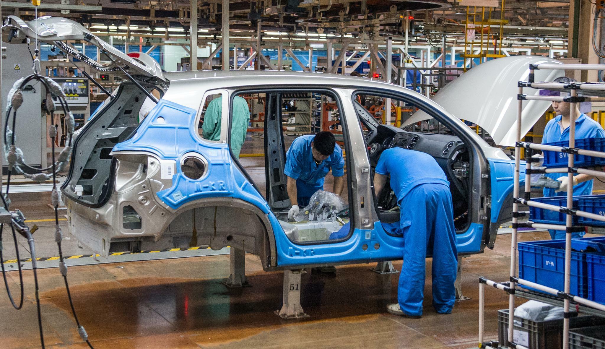 China: Autoabsatz geht im September den 15. Monat in Folge zurück