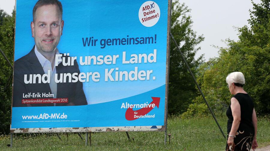 deutsche mitte wahlplakate