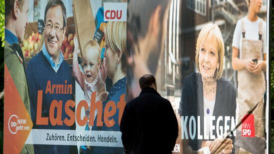 Drei Wochen vor der NRW-Landtagswahl: SPD und CDU liegen in der Wählergunst gleichauf