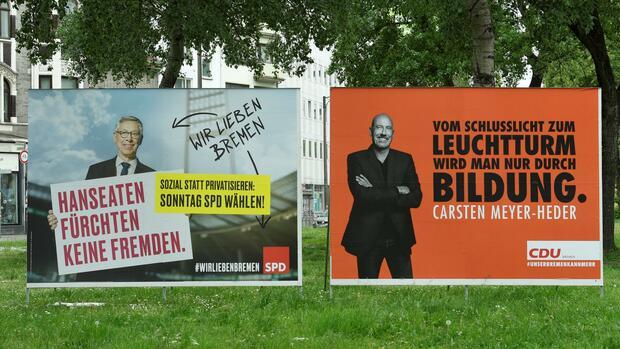 SPD erleidet in Bremen historische Schlappe