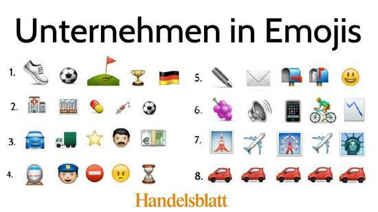 Facebook Bilderr 228 Tsel Unternehmen In Emojis Die L 246 Sungen
