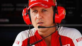 Weiter in Diensten von Ferrari: Michael Schumacher. Foto: Bongarts/Getty Images Quelle: SID