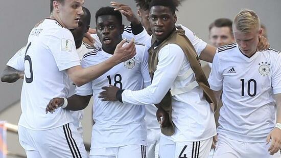 Fußball: Deutsche U20 als Gruppendritter im WM-Achtelfinale