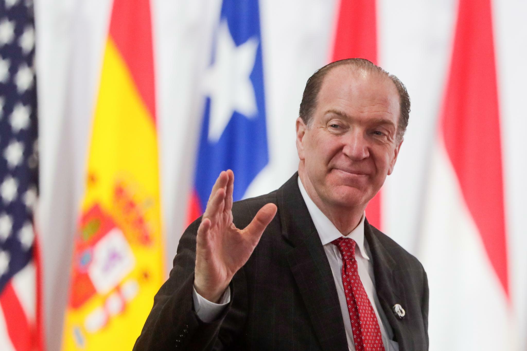 David Malpass: Jahrestreffen der Weltbank