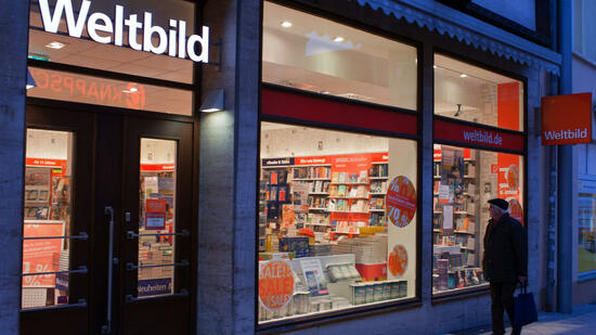 Insolventer verlag 100 weltbild filialen auf dem pr fstand for Verlag weltbild