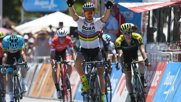 Radsport: Weltmeister Sagan gewinnt vierte Etappe der Tour Down Under