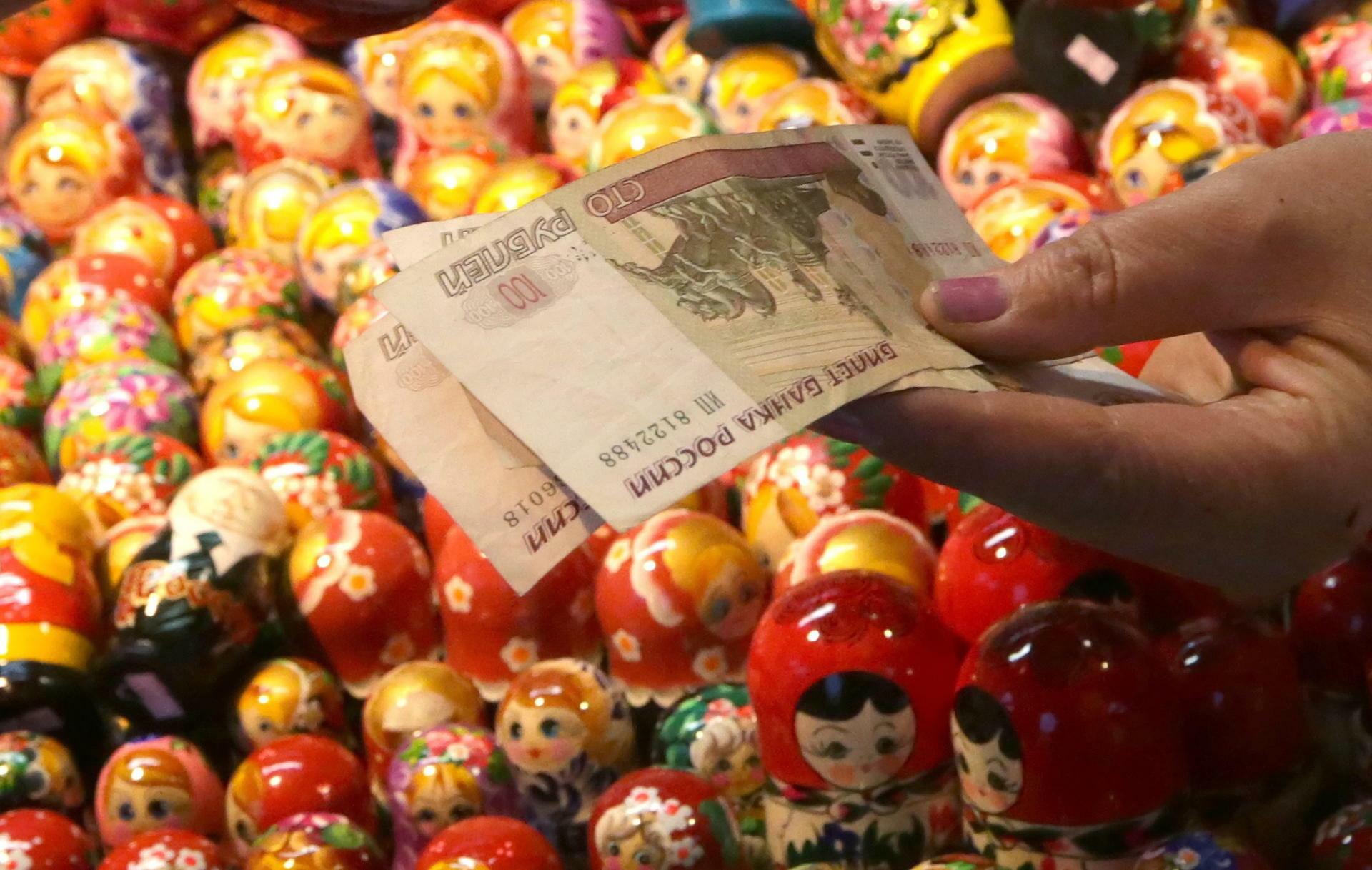 Rubel Verfall Russlands Wirtschaft Drohen Eisige Zeiten