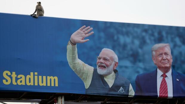 Indien-Reise: Warum Trump die Nähe zu Modi sucht