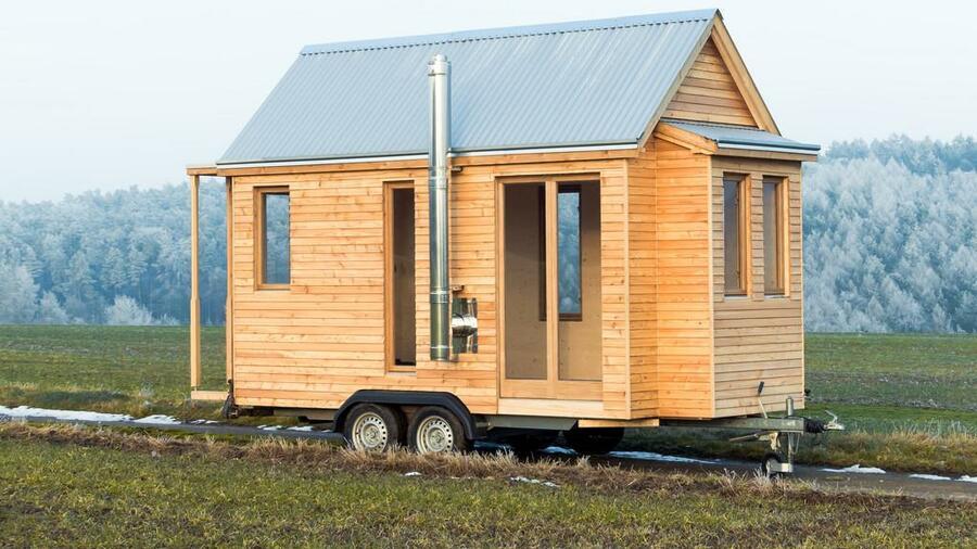 Mobiles Holzhaus vom Tischler: Tiny House auf Rädern