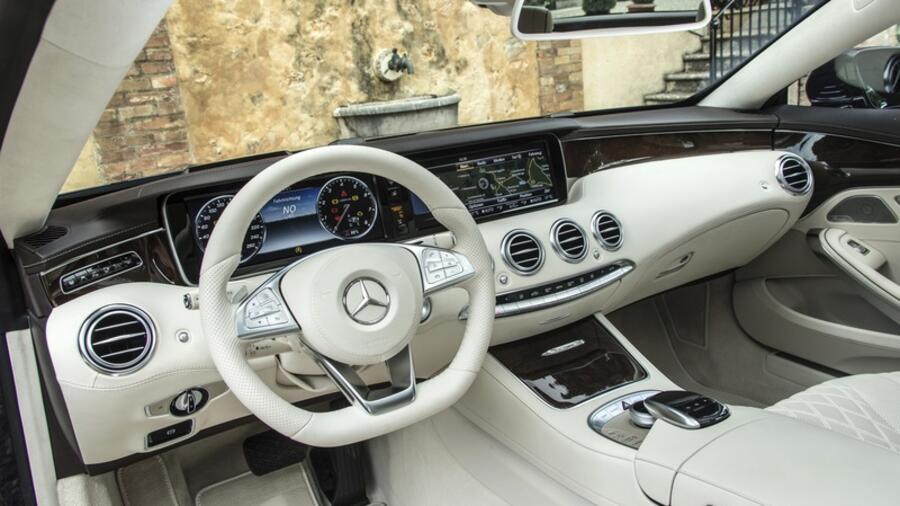 Mercedes S Klasse Coupe Brabbeln Und Fauchen