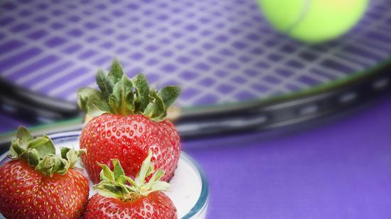 Wimbledon Erdbeeren