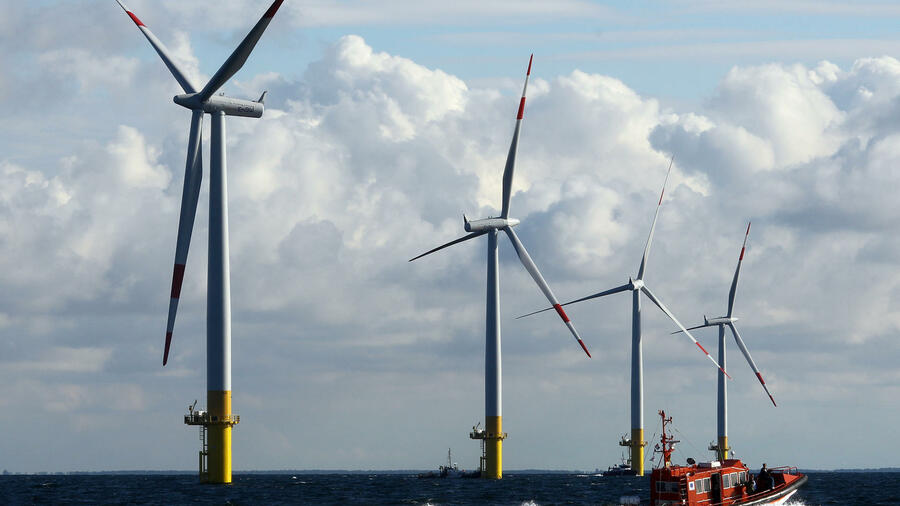 Der Offshore-Windparks «EnBW Baltic 1». Quelle: dpa