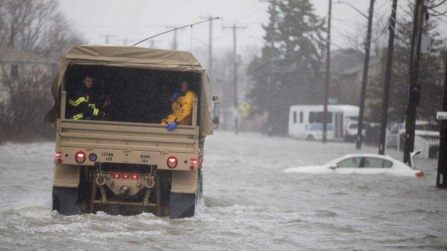 Schwerer Wintersturm an US-Ostküste fordert mindestens fünf Menschenleben