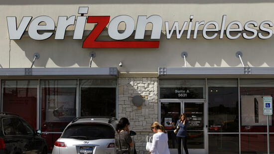 Filiale von Verizon Wireless in Dallas. Quelle: dapd