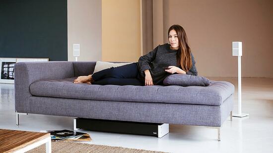 test soundsystem cubycon 2 complete unterm sofa ist der teufel los. Black Bedroom Furniture Sets. Home Design Ideas