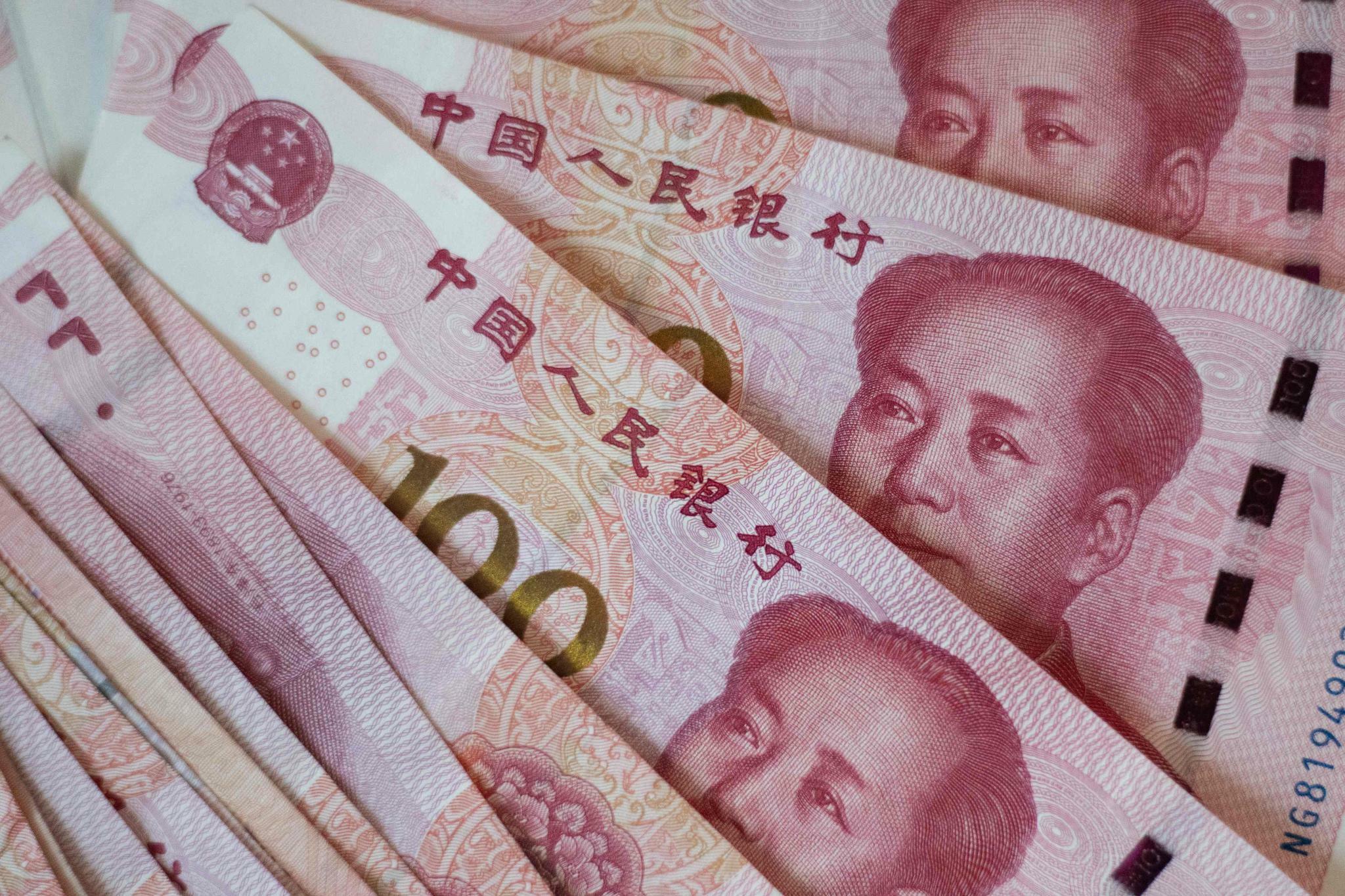 Yuan fällt erneut auf 11-1/2-Jahrestief