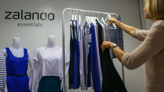 Zalando-Showroom in Berlin