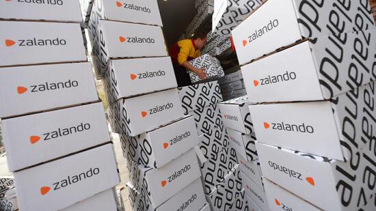 Online-Modehändler Zalando wächst zweistellig