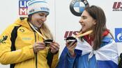 Skeleton: Lölling gewinnt zeitgleich mit Russin Skeleton-Weltcup