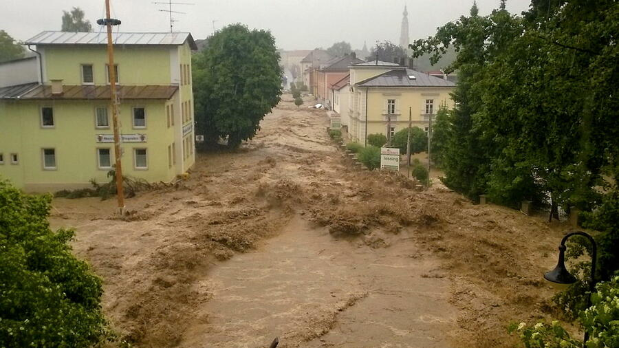Bayern überflutung