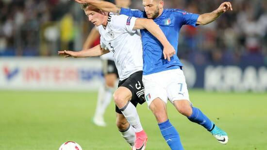 Fußball: Trotz Niederlage: Deutsche U21 im EM-Halbfinale