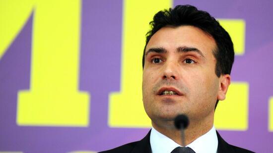 Mazedoniens Parlament bestimmt Sozialdemokraten Zaev zum Regierungschef