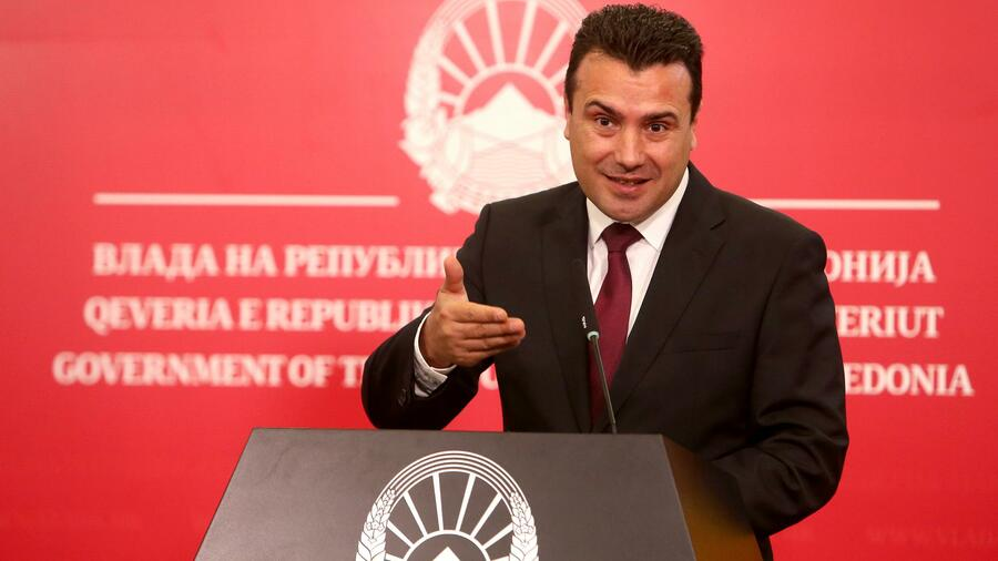 """Zoran Zaev: """"Nationalismus und Populismus können in der gesamten Region wieder aufbrechen"""""""