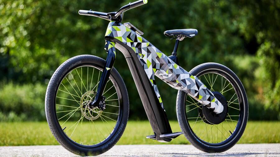 Viel zu schnell für ein Fahrrad – das kann Skodas Testmodell Klement