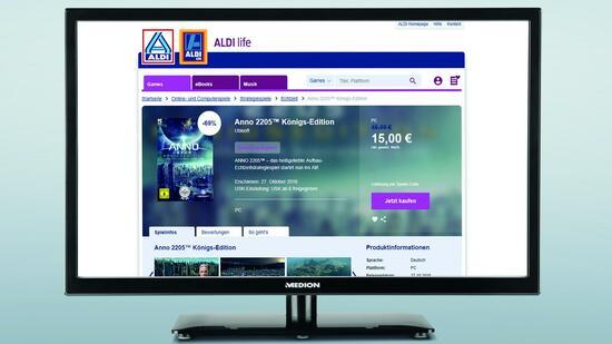 Aldi erweitert Life-Plattform um Games