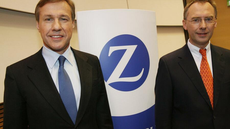Zurich-CEO Martin Senn (links). Quelle: dpa