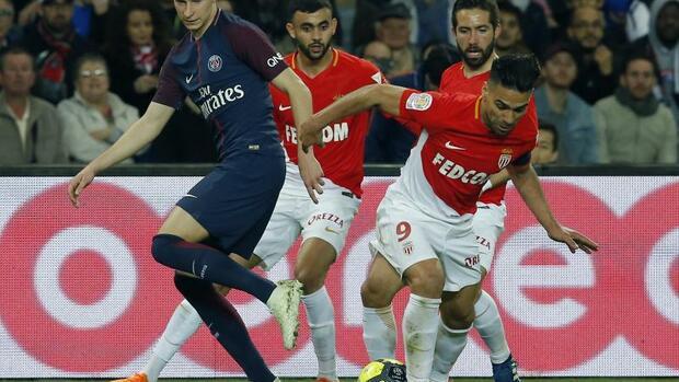 Fußball: Paris SG nach 7:1 gegen Monaco französischer Meister