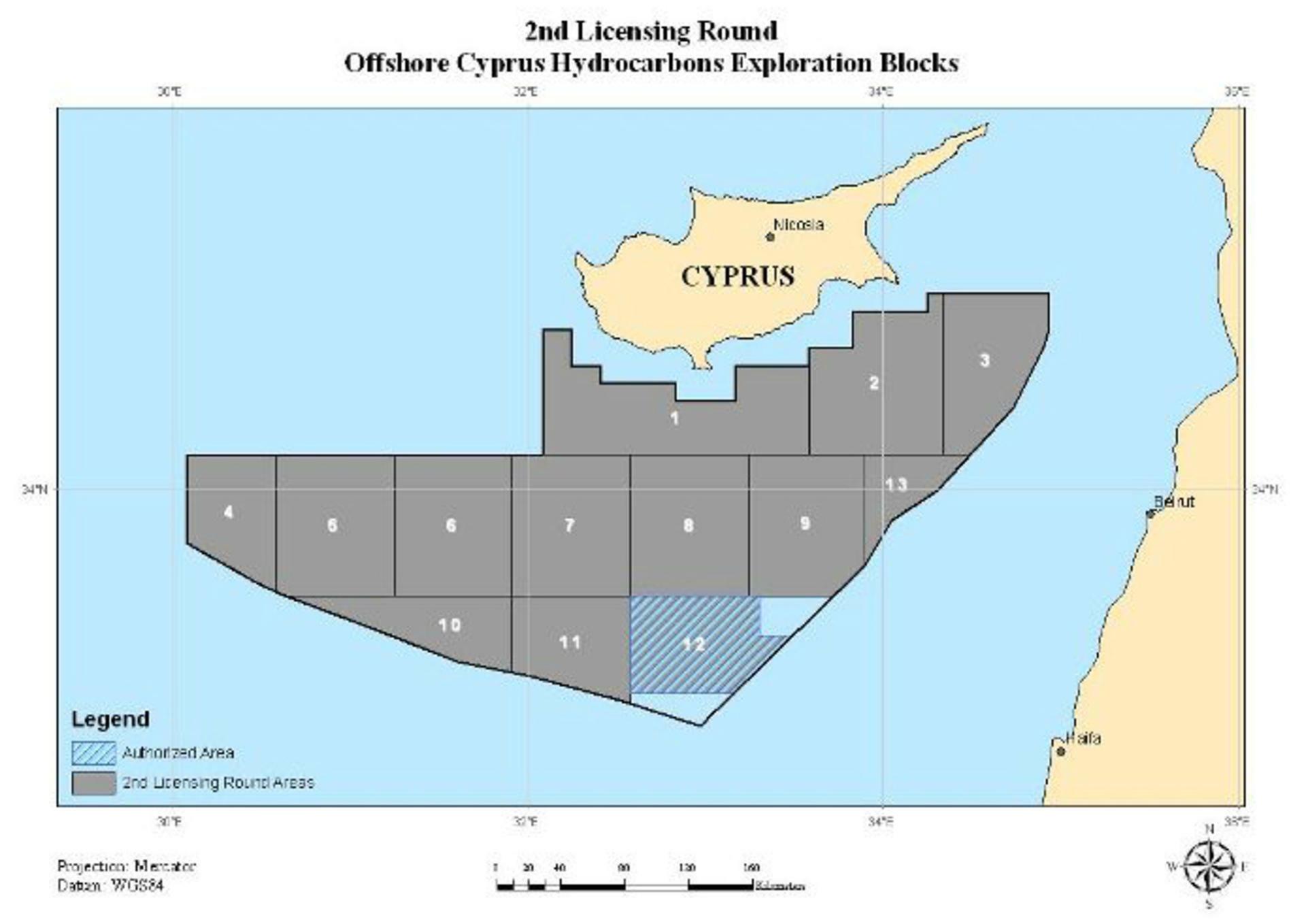 Vor den Küsten Zyperns liegen die Bodenschätze. Quelle: Ministerium für Handel, Industrie und Tourismus (MCIT) der Repub